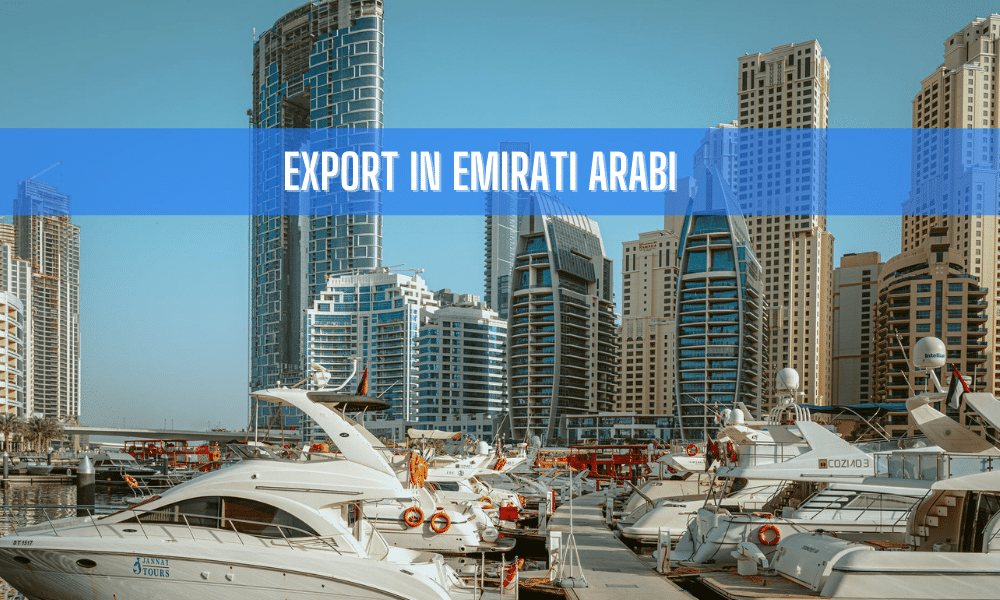 export in emirati arabi